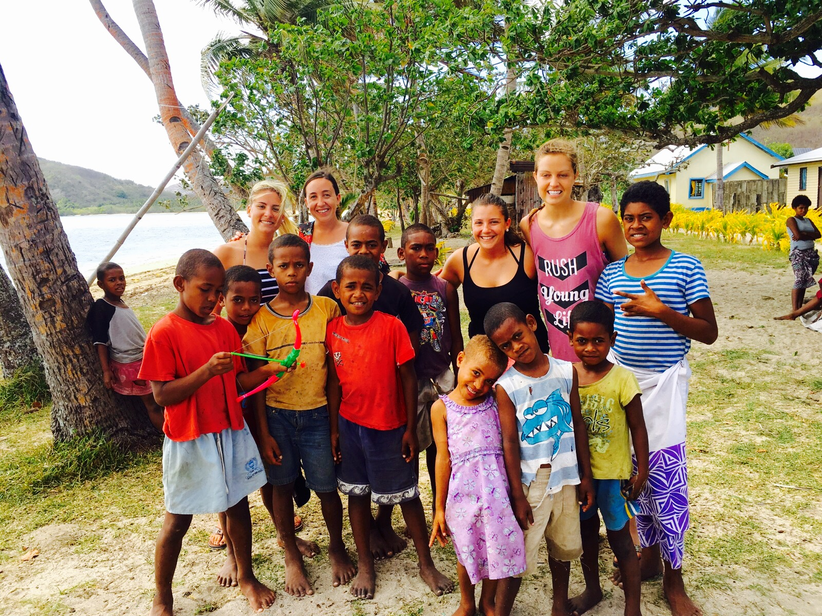Playing with the children in the village was one of the most joyful and humbling experiences.