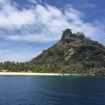 The island where they filmed Castaway