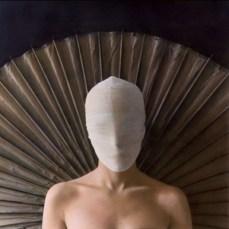 White Gauze Mask