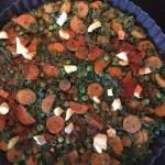 Havermout Boerenkool Quiche met groenten
