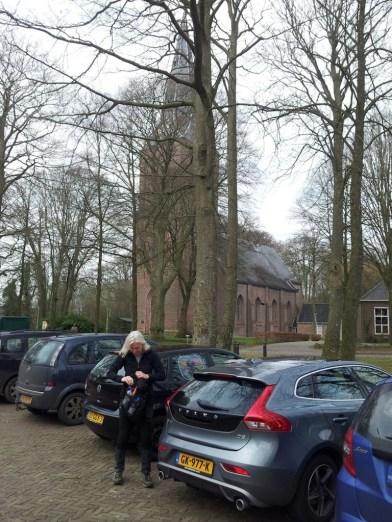 Het Kerkplein in Sleen