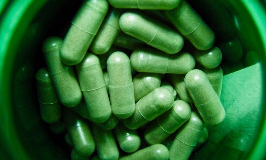 De groene pil