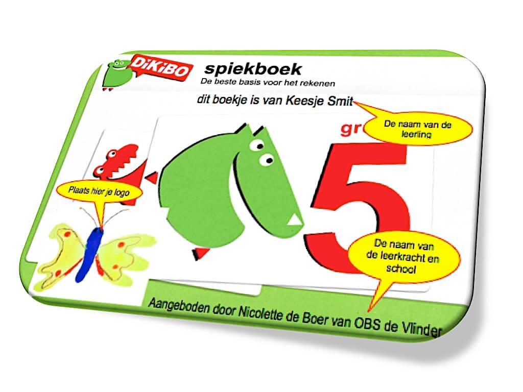 Spiekboek rekenen groep 5