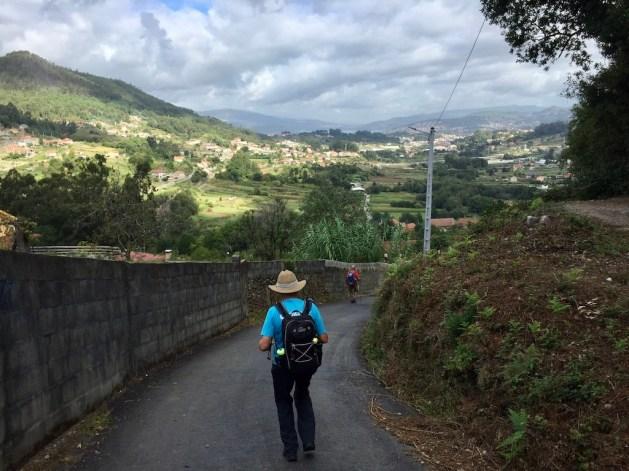 De Camino Portugues, van O Porrino naar Redondela