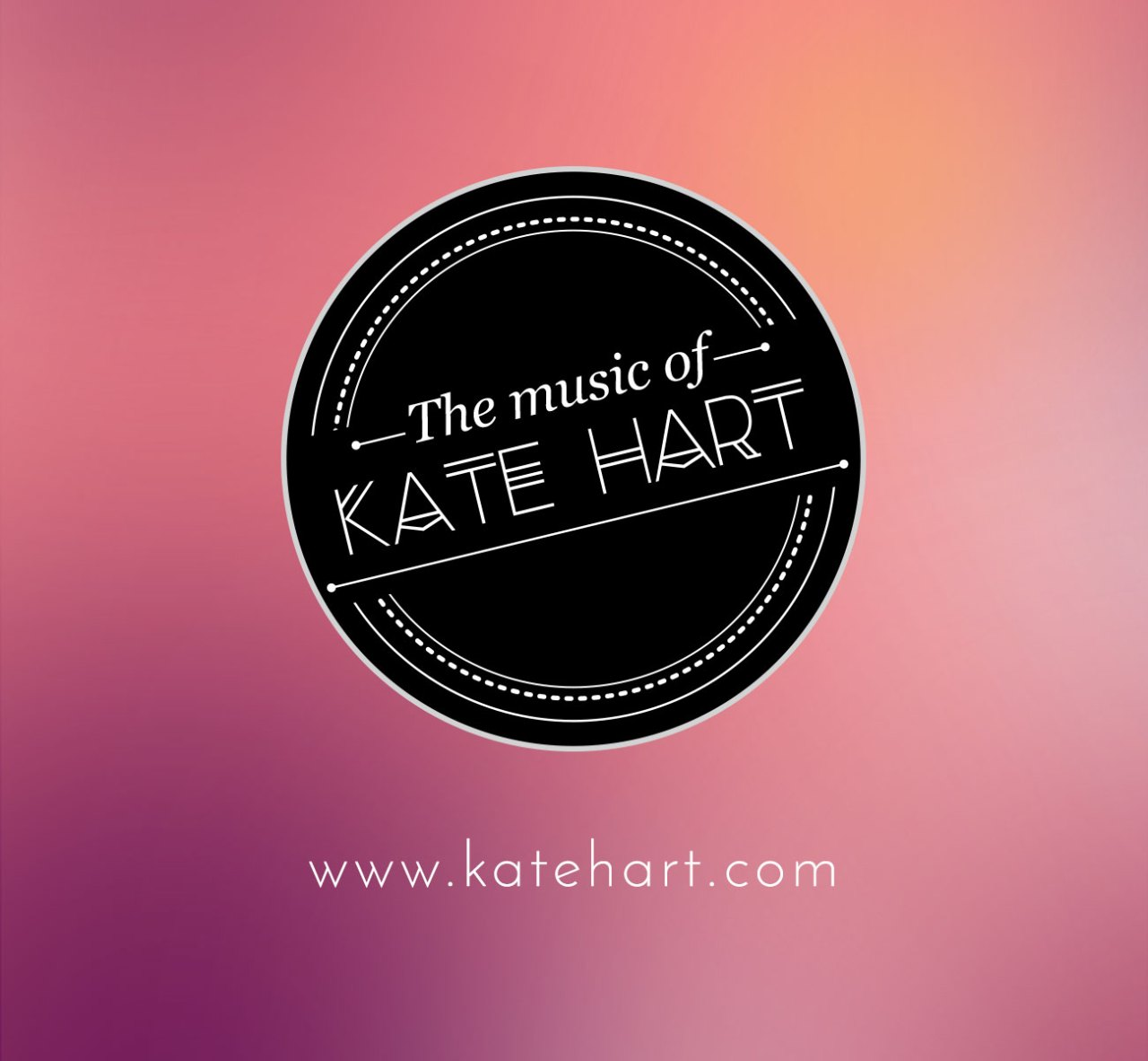 Website Design by Nicole Victory Design. Kate Hart Musican and Vocal Coach