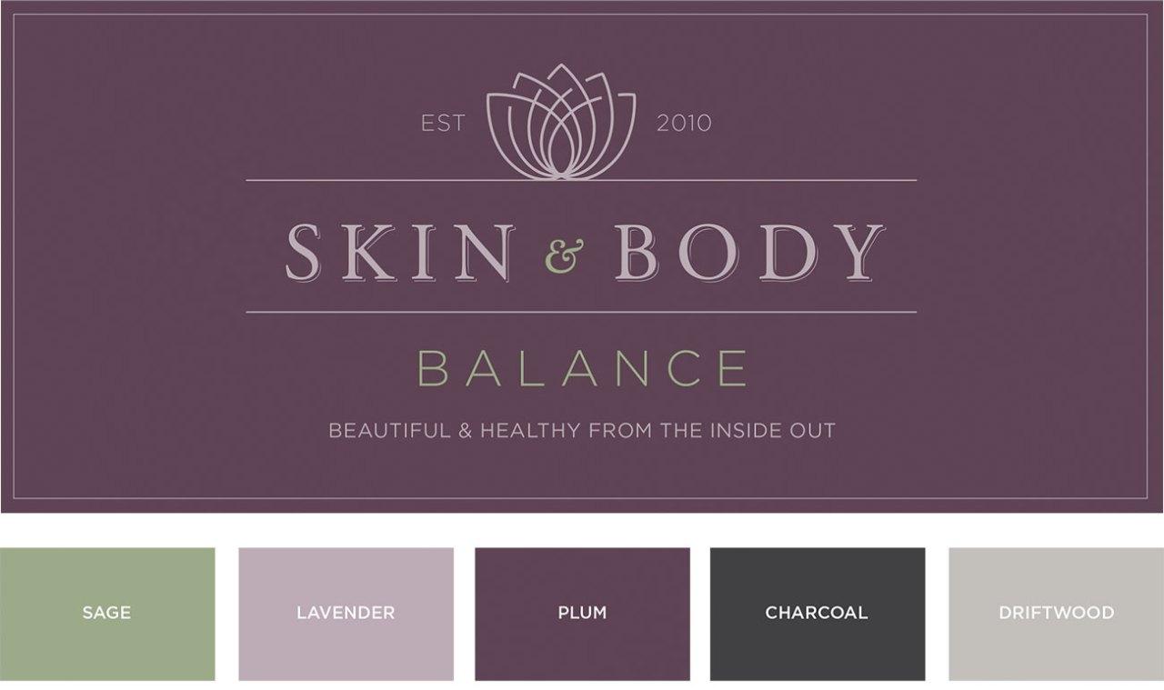 Skin and Body Balance Logo Design | Nicole Victory