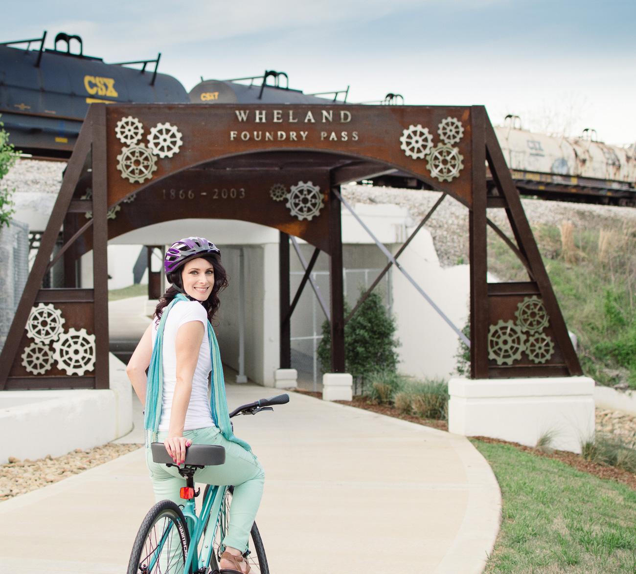 Chattanooga Schwinn Adventures   The Riverwalk   Nicole Victory Design