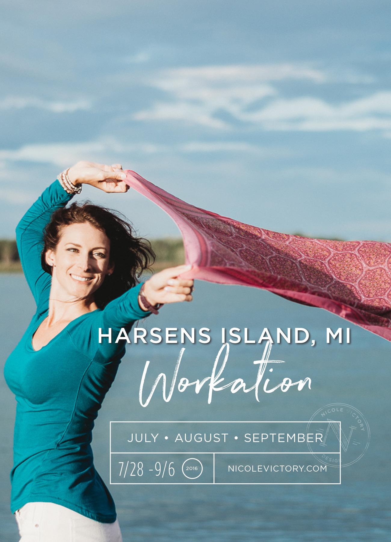 Harsens Island Workation 2016   Nicole Victory Design