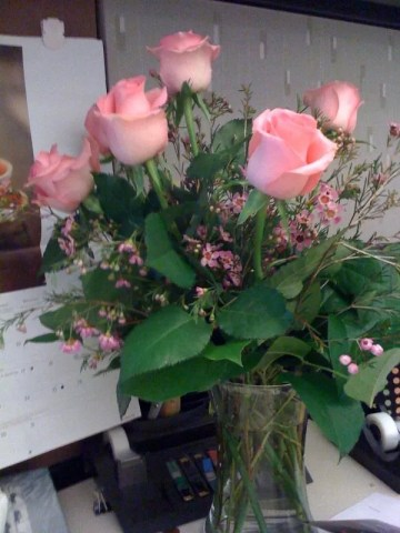 Flowers from hubby!