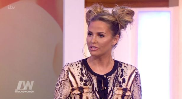 katie-price-sports-minnie-mouse-hairstyle-on-loose-women