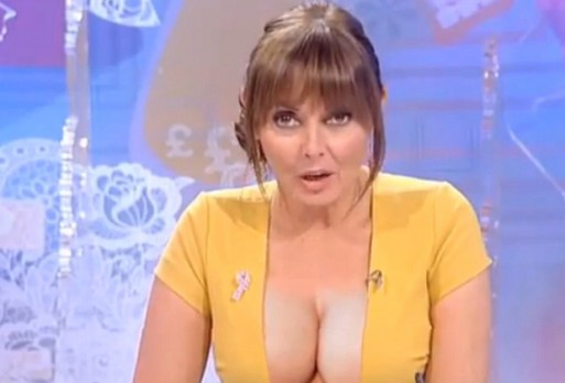Carol Vorderman Says: The BBC Told Me That I'd Never Make It In TV Because My Breasts Were Too Small