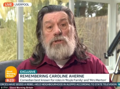 Ricky Tomlinson Admits He Can't See Why Caroline Aherne Wasn't Given A State Funeral When Everyone Loved Her And Everyone 'Hated' Margaret Thatcher