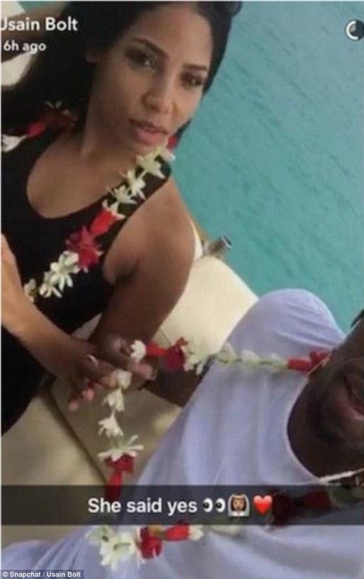Has Usain Bolt Got Down On One Knee To Girlfriend Kasi Bennett