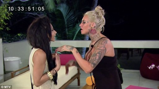 Jemma Lucy Gets 'AXED from Ex On The Beach After Grabbing Co-star By The Throat