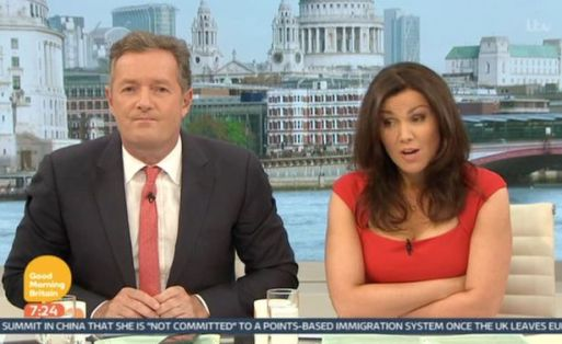 Piers Morgan Lashes Out At A 12-Year-Old Animal Hunter On Good Morning Britian