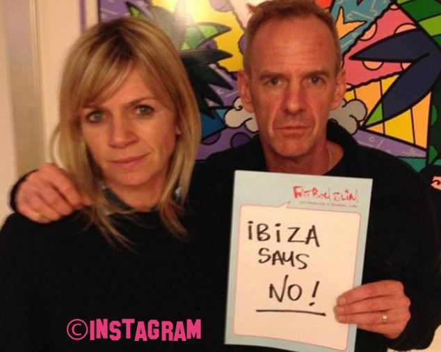 Zoe Ball And Fatboy Slim Split After 17 Years Of Marriage