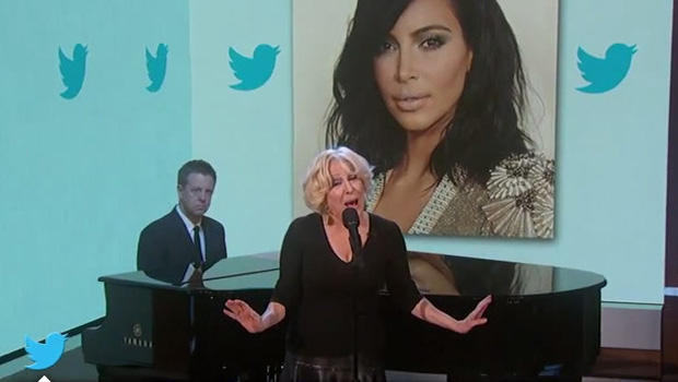 "Bette Midler's Kim Kardashian Shaming Is All ""Good Fun"""