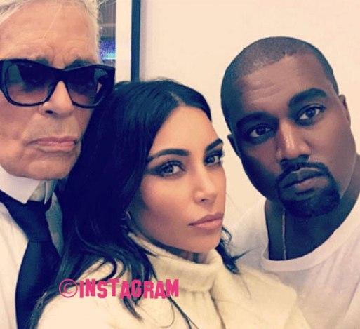 """Karl Lagerfeld """"Can't See Why"""" Kim Kardashian Was Left In A Hotel Room Alone"""