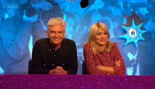 Keith Lemon Shocks Celebrity Juice Viewers With An X-Rated Image Of Holly Willoughby And Phillip Schofiled