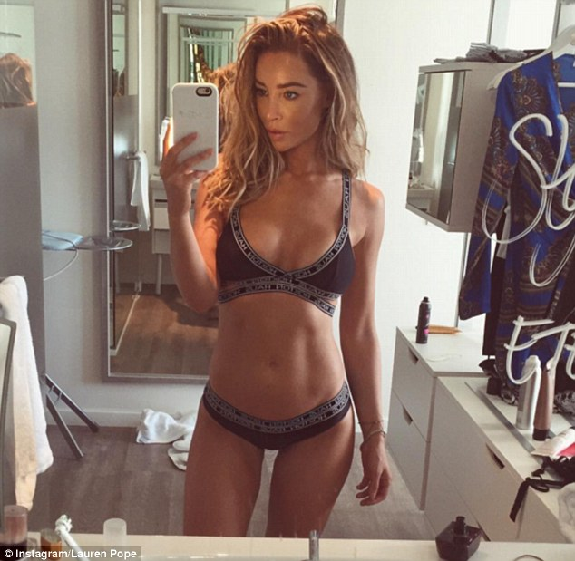 Lauren Pope Flashes Her Slender Physique In New Instagram