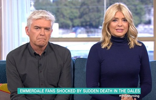 Phillip Schofield Admits He Texted His Daughters After Holly Barton's Death In Emmerdale