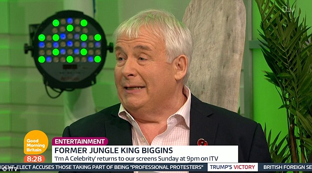 Christopher Biggins Returns To TV For The First Time Since Celebrity Big Brother Appearance