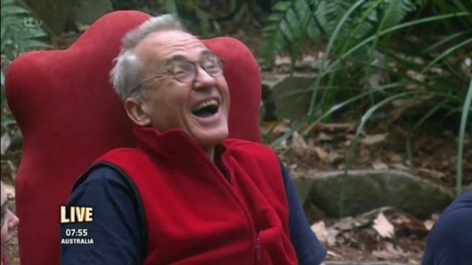 I'm A Celeb Viewers Thank Larry Lamb For Shutting Up Martin Roberts