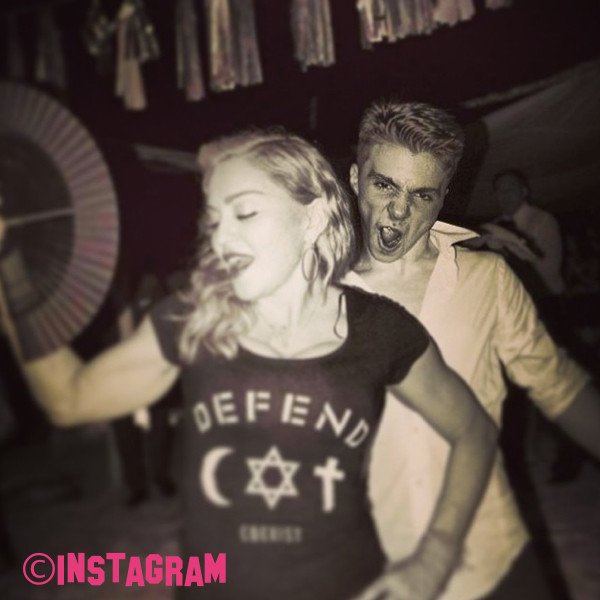 Madonna Speaks About Her Son Regarding Rocco Ritchie Marijuana Possession Arrest