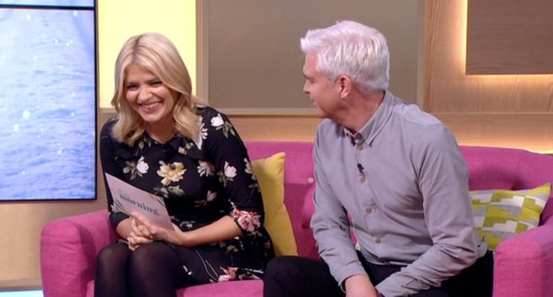 Phillip Schofield Accuses Holly Willoughby Of Having A Drink After She Messes Up Her Words