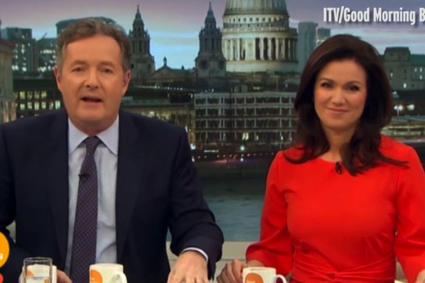 Piers Morgan Thinks Cheryl is About To Give Birth