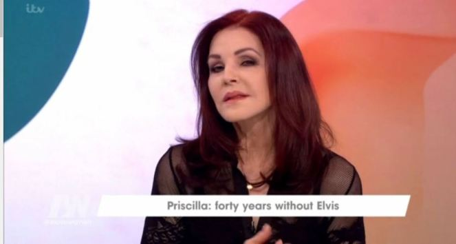 Priscilla Presley Admits Elvis Presley Never Saw Her Without Makeup!