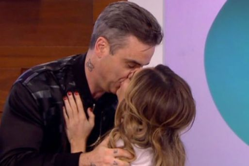 robbie-williams-surprises-wife-ayda-field-on-loose-women-after-she-admits-she-faked-orgasum-while-having-sex-with-him