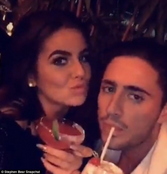 Stephen Bear Shows Off His New Lover Just Hours After His Ex Jemma Lucy Claims He Cheated On Her