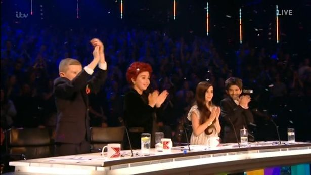 X Factor Judges Get Replaced With Children For Olly Murs Performance