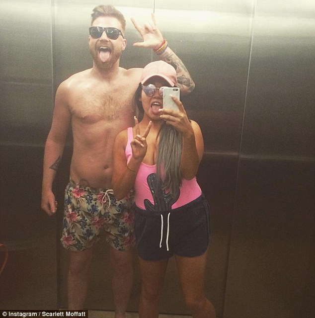 Did Scarlett Moffatt Fake Her Claustrophobic As She Shares Number Of Lift Selfies With Boyfriend Luke Crodden