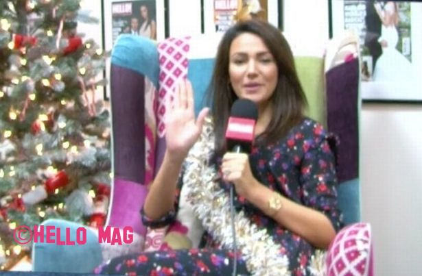 Just What Does Michelle Keegan Want For Christmas??