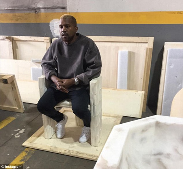 Kanye West Goes Blonde As He Makes His First Public Appearance Since He Was Hospitalized