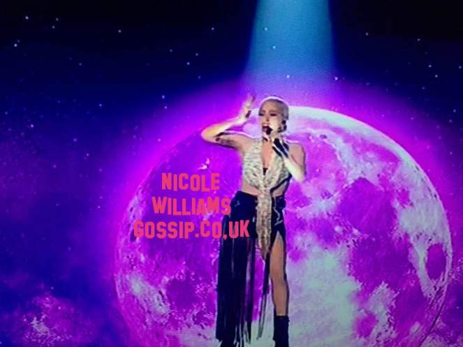 Lady Gaga Performa On The UK X Factor