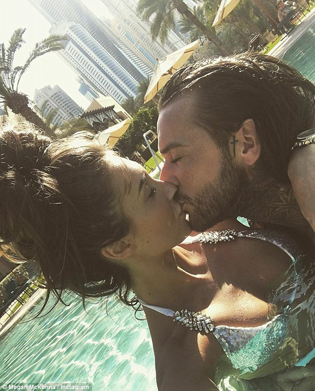 Megan McKenna Shares A Kiss With Boyfriend Pete Wicks During Holiday