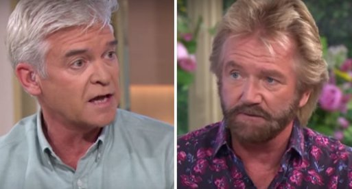 Noel Edmonds Reignites His Feud With Phillip Schofield On Twitter After Cancer Interview On This Morning