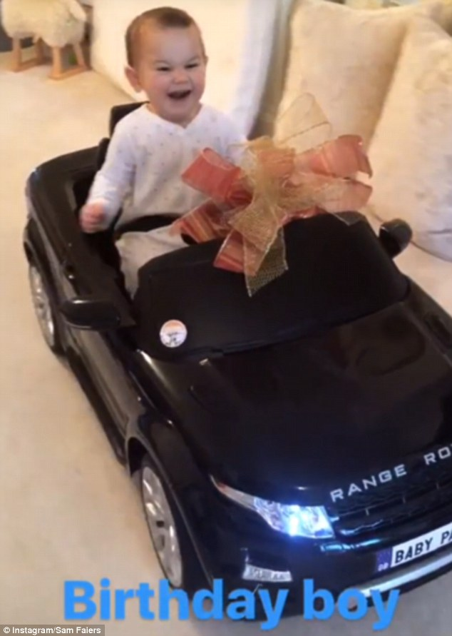Sam Faiers Celebrates Son Paul's First Birthday As She Shares Moment On Instagram