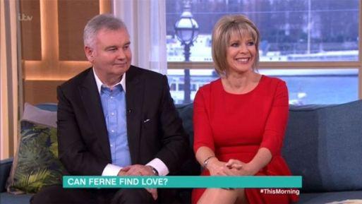 Eamonn Holmes Tells Wife Ruth Langsford That She Has 'Chunky Legs'