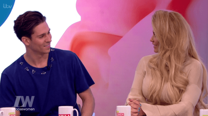 Katie Price Gets Really Flirty With Joey Essex On Loose Women