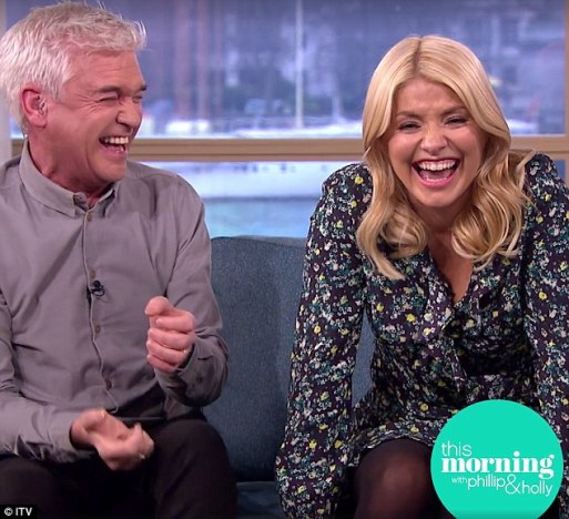 Phillip Schofield Can't Hold It Together When Holly Willoughby ...