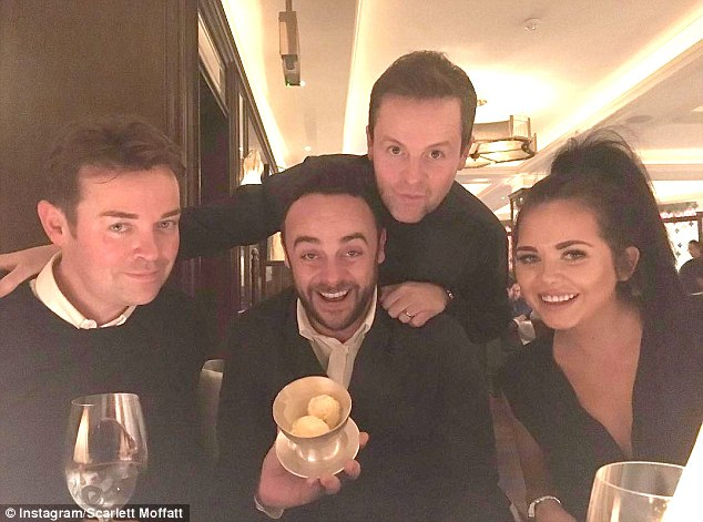 Scarlett Moffatt Enjoys Single Life As She Parties With Ant And Dec Just Days After Splitting With Boyfriend Luke Crodden