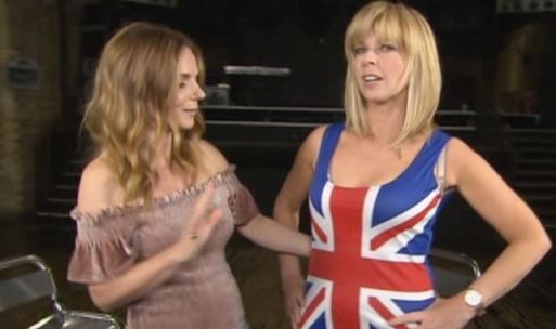 Kate Garraway Surprises GMB Viewers As She Dresses In eri Horner's Union Jack Dress