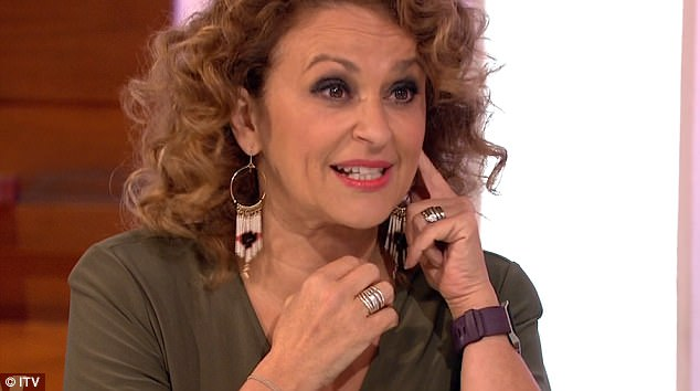 Nadia Sawalha Admits She Has Been Having Botox In her Face To Stop Grinding Of Her Teeth