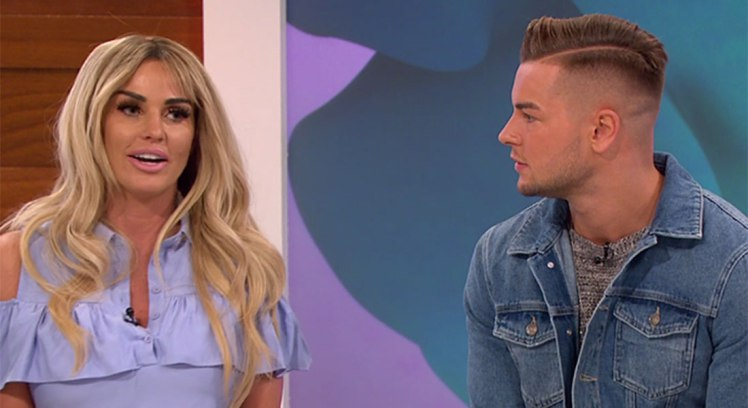 "Katie Price Hits Back Out At Chris Hughes Over His Rant As She Says It Has ""Guilt All Over"""