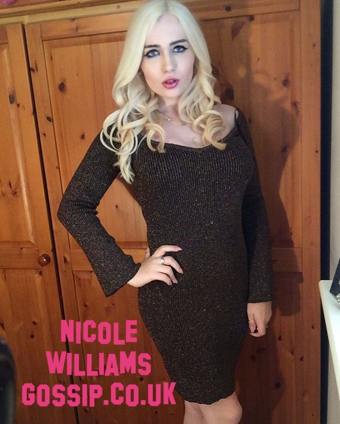 Nicole Williams Gossip Dresses In Miss Selfridge Dress While On Nightout In London Town!