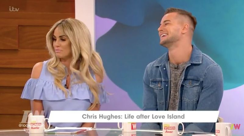 Rylan Clark Reveals Katie Price Does Have Flirty Message Screenshots From Chris Hughes